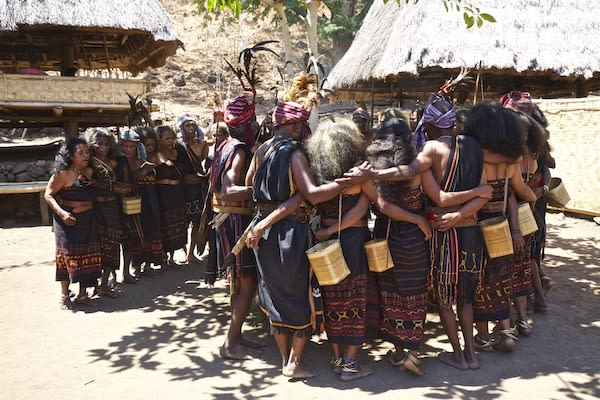 Senja's 11-Day Forgotten Island & Banda Sea Ring of Fire - Day Five - Local Alor Villagers Dancing