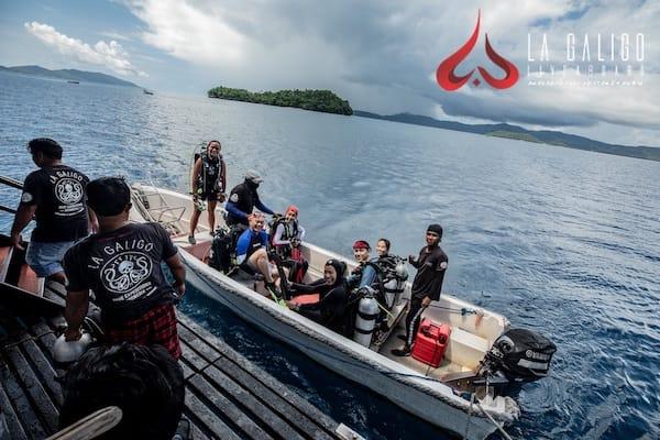 La Galigo's 9-Day Raja Ampat South - Day Two - Going to Dive Site