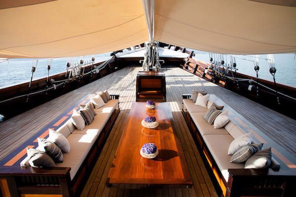 Dunia Baru's 13-Day Flores, Forgotten Islands & Maluku - Day Two - Lounge on Deck