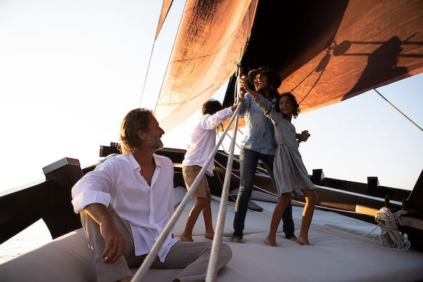Dunia Baru's 13-Day Flores, Forgotten Islands & Maluku - Day Six - Guests Enjoy Sailing