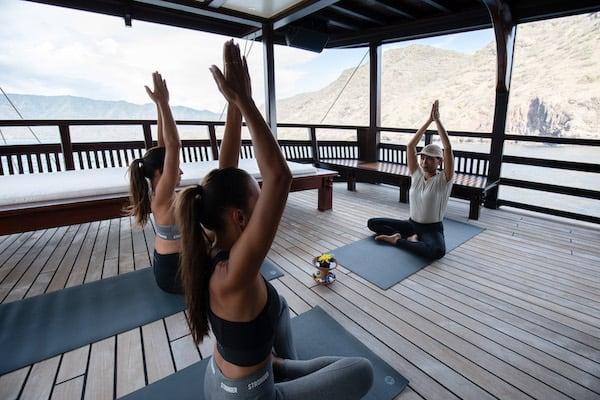 Dunia Baru's 13-Day Flores, Forgotten Islands & Maluku - Day Twelve - Morning Yoga