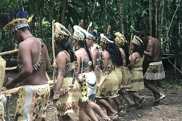 La Jangada's 12-Day In the Wild Amazonia Cruise itinerary Day Four - Riverbank Community Visit.