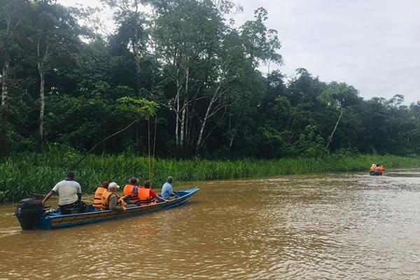 La Jangada's 12-Day In the Wild Amazonia Cruise itinerary Day Six - Amazon River Views.