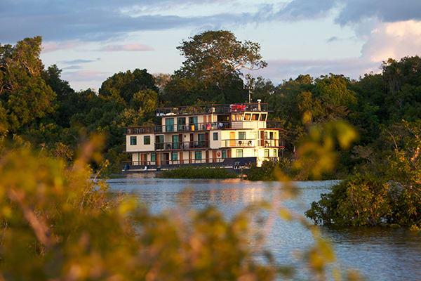 La Jangada's 12-Day In the Wild Amazonia Cruise itinerary Day Nine - Disembarkation.