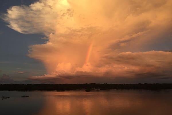 Amazon Dream's 6-Day Manaus Cruise Itinerary Day Two - Sunset.