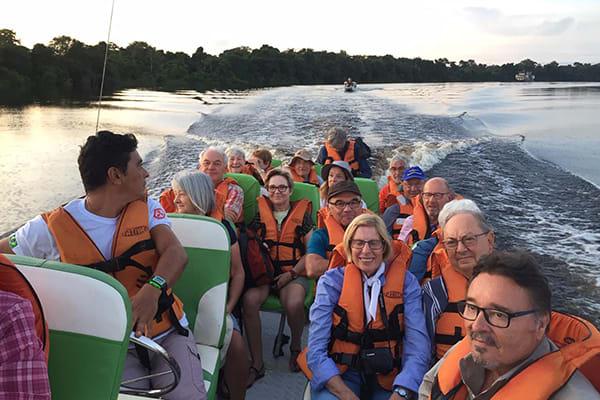 Amazon Dream's 6-Day Manaus Cruise Itinerary Day Three - Skiff Exploration of the Rio Negro.