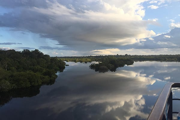 Amazon Dream's 7-Day New Years Cruise Itinerary Day One - Welcome to the Amazon River.