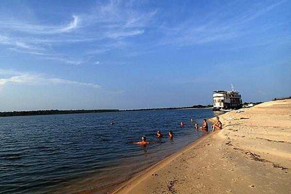 Amazon Dream's 7-Day New Years Cruise Itinerary Day Six - Beach Day.