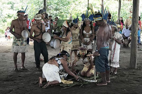 Amazon Dream's 10-Day Amazon & Tapajos Rivers Cruise Itinerary Day Three - Indigenous Village.