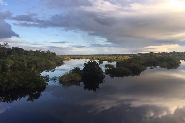 Amazon Dream's 10-Day Manaus Cruise Itinerary Day One - Cruising on the water.