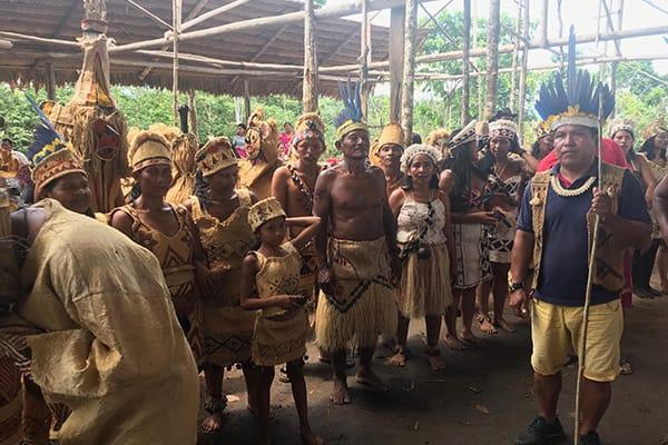 Amazon Dream's 10-Day Manaus Cruise Itinerary Day Five - Community Visit.