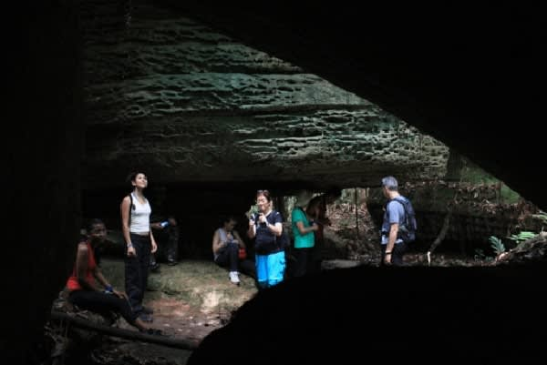 Amazon Dream's 10-Day Manaus Cruise Itinerary Day Eight - Madada Caves.
