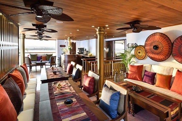 Sanctuary Ananda's 5-Day Mandalay to Bagan - Day Three - Restaurant On Board