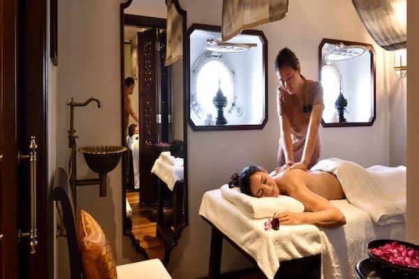 Sanctuary Anand's 5-Day Monywa Sailing - Day Three - Enjoy Massage On Board