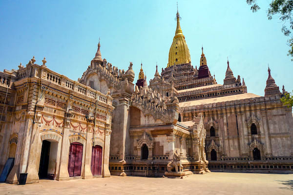 The Strand's 3-Day Mandalay to Bagan - Day One - Ananda Temple in Bagan