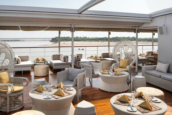 The Strand's 4-Day Mandalay to Bagan - Day One - Sundeck Seating