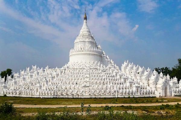 The Strand's 4-Day Mandalay to Bagan - Day Four - Hsinbyume Mingun