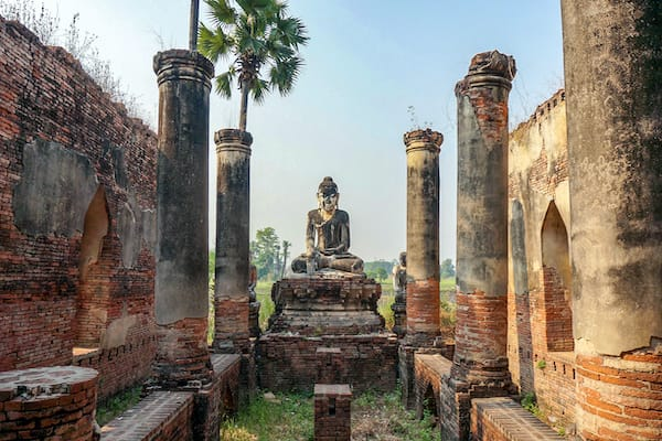 The Strand's 5-Day Bagan to Mandalay - Day One - Ava