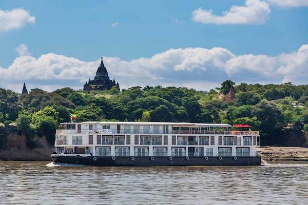 Irrawaddy Explorer's 6-Day The Royal Capitals Upriver - Day Four - Sailing along Irrawaddy River