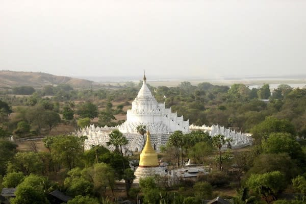 Irrawaddy Explorer's 6-Day The Royal Capitals Upriver - Day Six - Hsinbyume Mingun