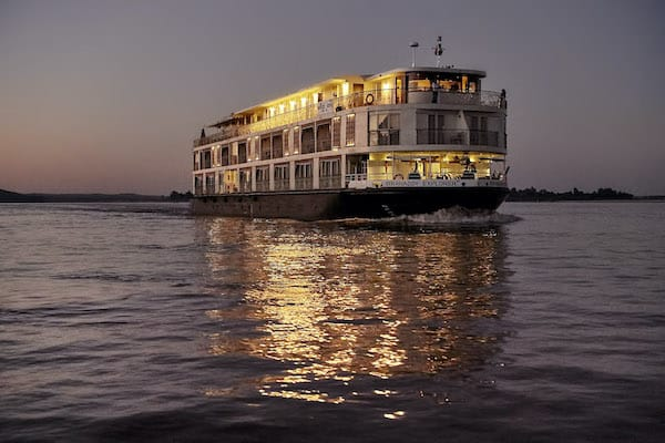 Irrawaddy Explorer's 6-Day The Royal Capitals Downriver - Day One - Cruising along Irrawaddy River