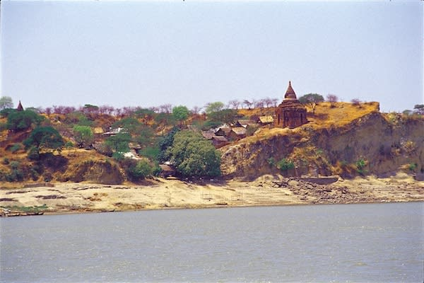 Irrawaddy Explorer's 10-Day Treasure of Golden Myanmar Upriver - Day Two - Beautiful Landscape along Irrawaddy River
