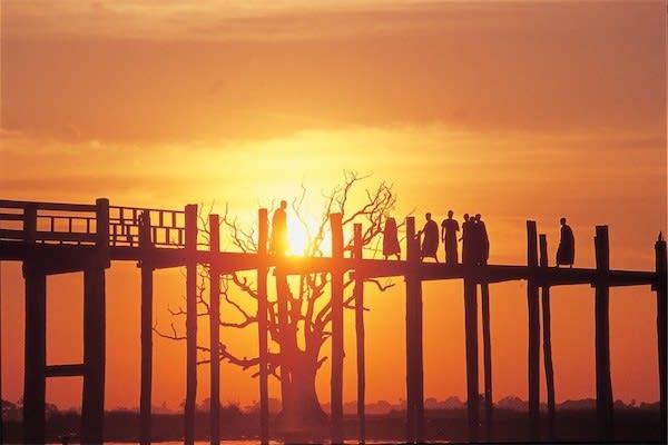 Irrawaddy Explorer's 10-Day Treasure of Golden Myanmar Upriver - Day Six - The Famous U-Bein Bridge