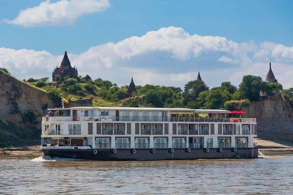 Irrawaddy Explorer's 10-Day Treasure of Golden Myanmar Downriver - Day One - Cruising down Irrawaddy River