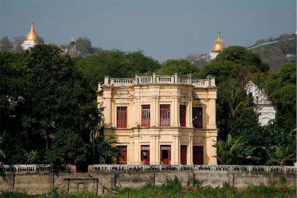 Irrawaddy Explorer's 10-Day Treasure of Golden Myanmar Downriver - Day Two - Old Architecture in the City