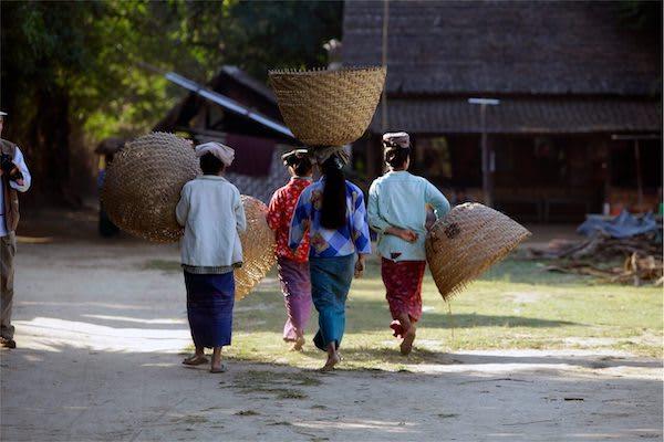 Irrawaddy Explorer's 10-Day Treasure of Golden Myanmar Downriver - Day Nine - Local Farmers
