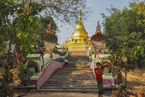 Pandaw II's 8-Day Mandalay to Bagan - Day Five - A Temple in Myanmar