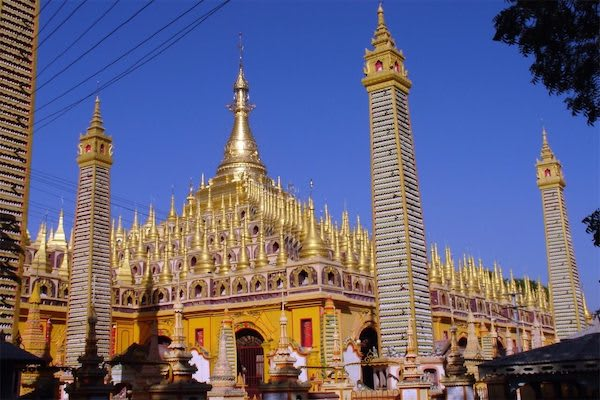 Paukan Princess' 11-Day Burmese Days Upriver - Day Nine - A Temple in Sagaing