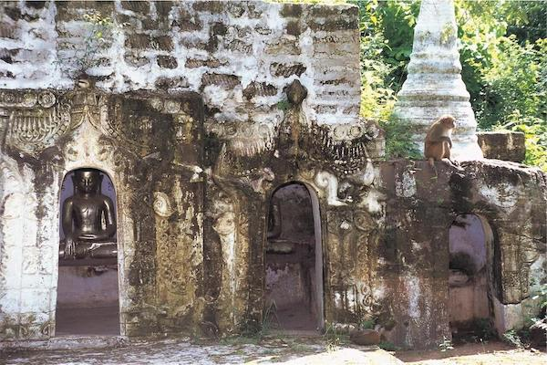 Paukan Princess' 11-Day Burmese Days Upriver - Day Ten - An Old Hidden Temple on The Mountain