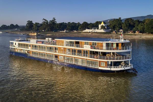 Paukan Princess' 11-Day Burmese Days Downriver - Day One - Cruising