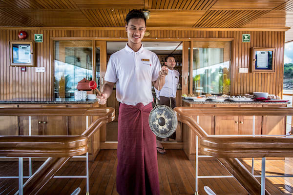 Zawgyi Pandaw's Chindwin: Monywa to Homalin - Day Three - Staff