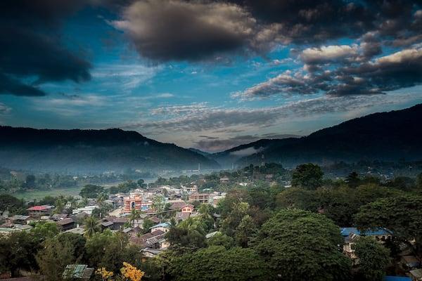 Zawgyi Pandaw's Chindwin: Monywa to Homalin - Day Seven - Monywa Drone View