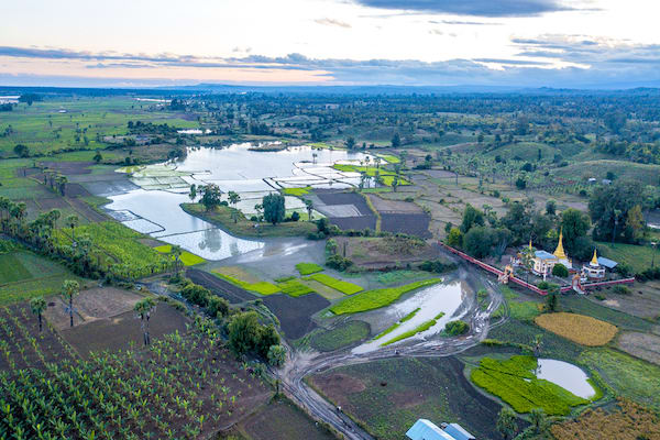 Zawgyi Pandaw's Chindwin: Homalin to Monywa - Day Six - Monywa Drone View