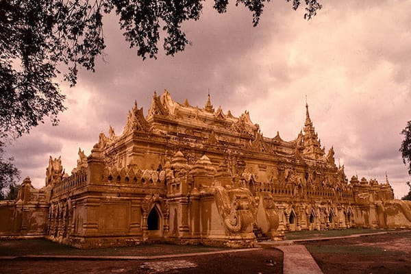 Kha Byoo Pandaw's Upper Irrawaddy: Bagan to Mandalay - Day Three - Me Nu Brick Monastery