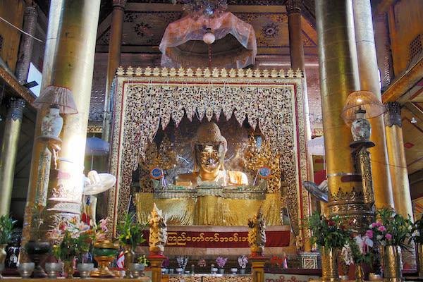 Kha Byoo Pandaw's Upper Irrawaddy: Bagan to Mandalay - Day Nine - Inside a Temple