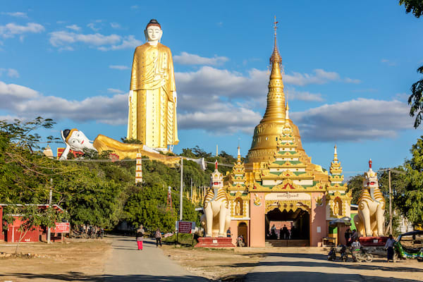 Kha Byoo Pandaw's Upper Irrawaddy: Mandalay to Bagan - Day Six - Giant Buddha Images Bodhi Tataung in Monywa