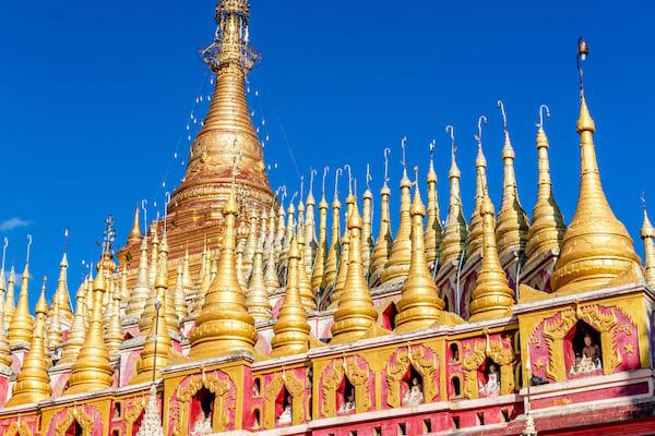 Kha Byoo Pandaw's Upper Irrawaddy: Mandalay to Bagan - Day Seven - Shwedagon Pagoda