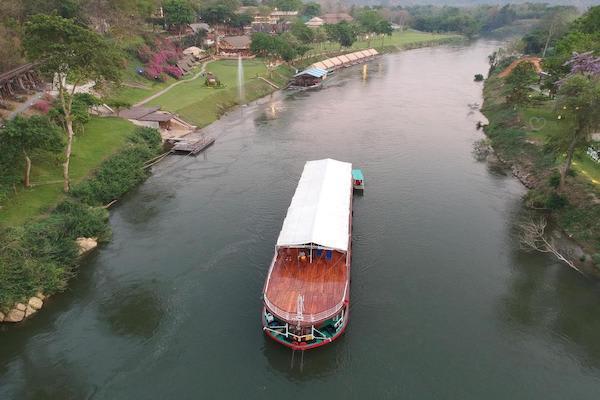 RV River Kwai's 4-Day Upriver Cruise - Day Three - Cruising Along River Kwai
