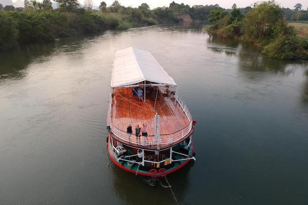 RV River Kwai's 7-Day Cruise - Day One - Cruising Along River Kwai