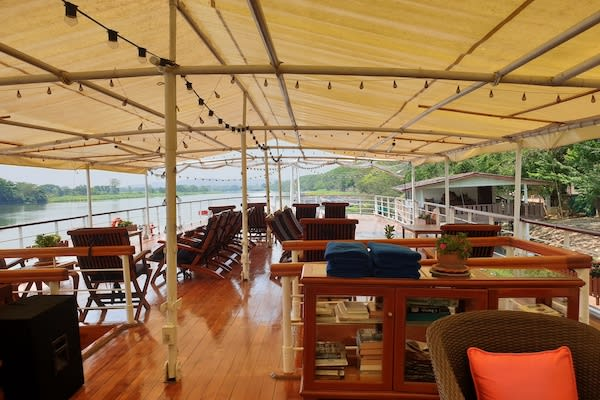 RV River Kwai's 7-Day Cruise - Day Six - Sundeck Lounge