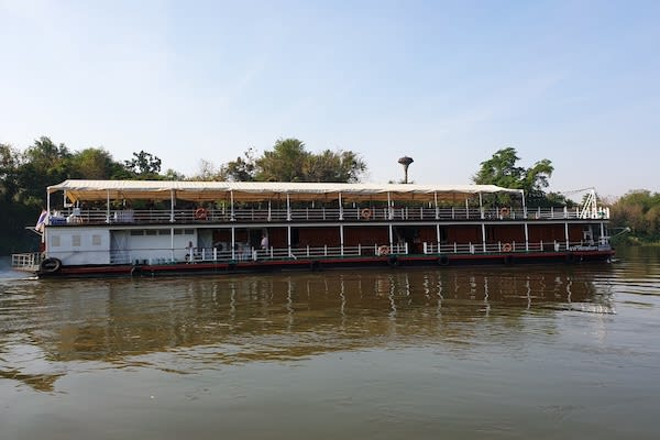 RV River Kwai's 7-Day Cruise - Day Seven - Side View