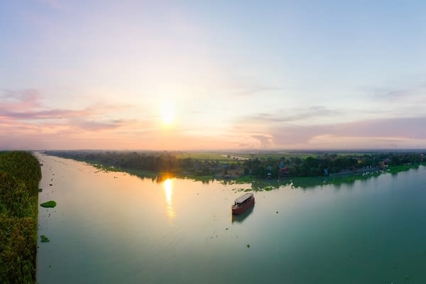 Loy River Song's 4-Day Bangkok to Ayutthaya - Day One - Landscape Drone View