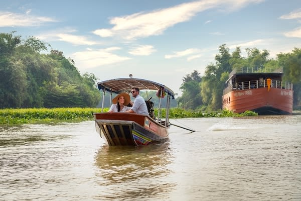 Loy River Song's 4-Day Bangkok to Ayutthaya - Day Three - Excursion on Private Tender