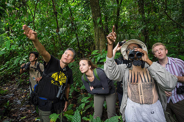 La Selva Amazon Ecolodge & Spa 5-Day Lodge Program Day Two -  Trail Walk.