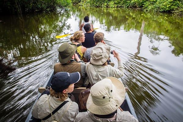 La Selva Amazon Ecolodge & Spa 5-Day Lodge Program Day One -  Canoe Ride.