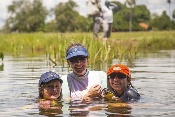 Peralta's 5-Day Victoria Regina Itinerary Day Three - Swimming Excursion.